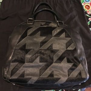 L.A.M.B. Tillman Bowler handbag like new!